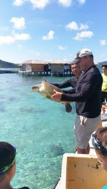 Scott with-turtle