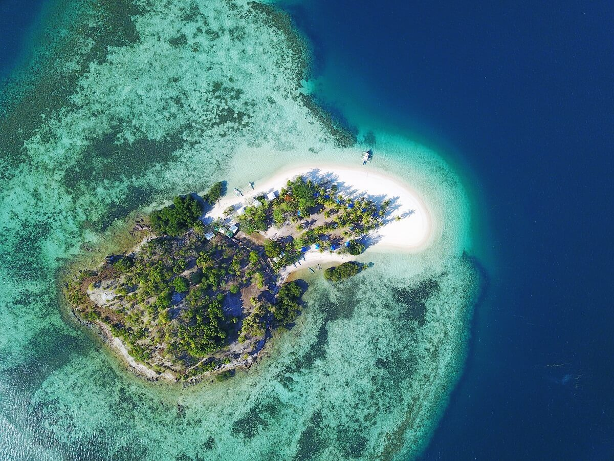 The beautiful Colon Island