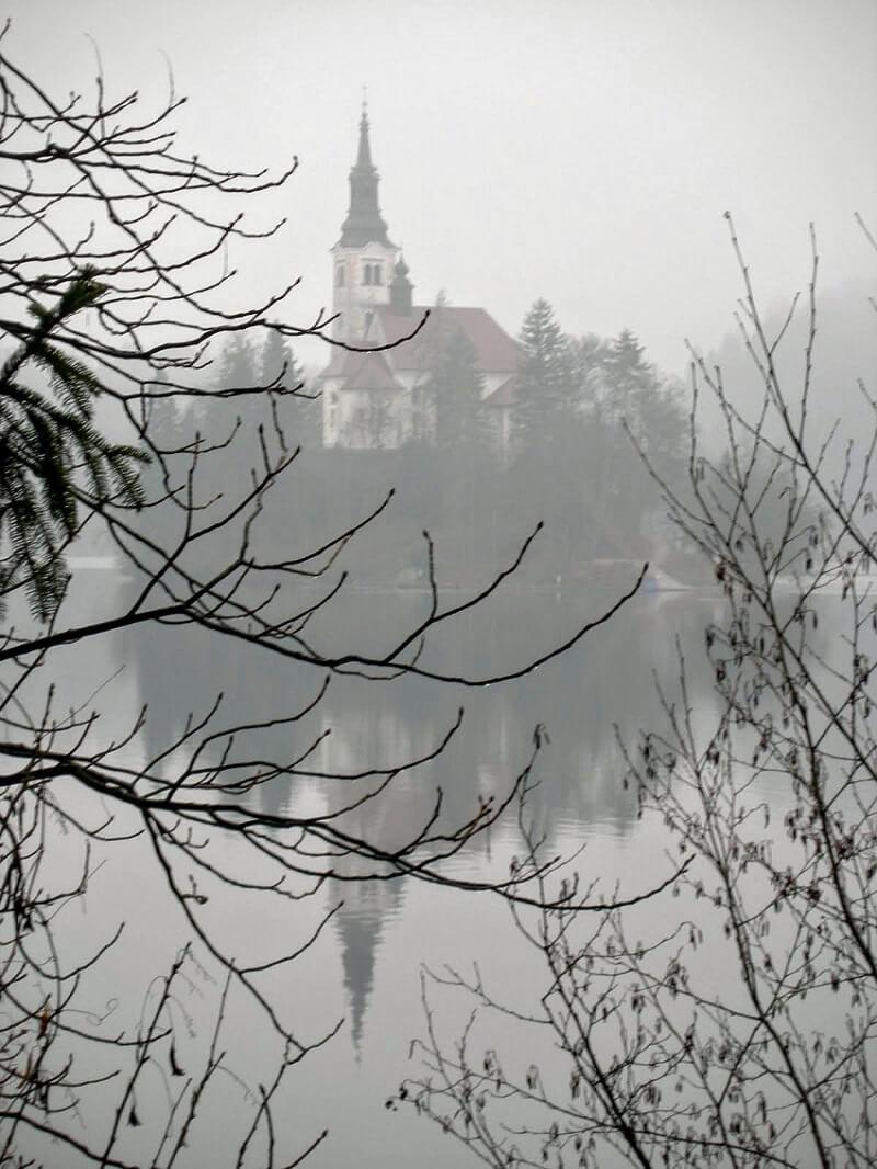 Church-near the-lake