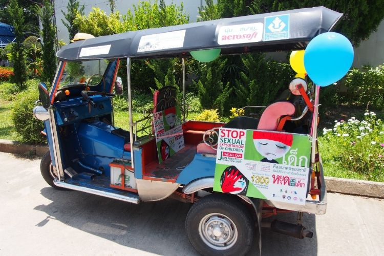 Raising Awareness With TukTuk Drivers