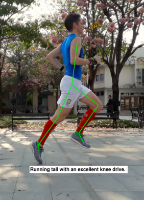 Kalle running