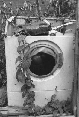 Old wash machine