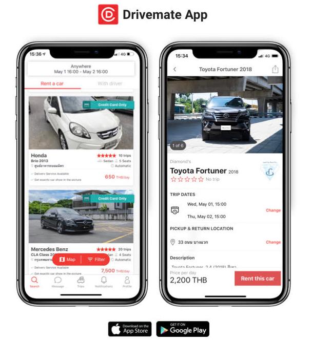 Drivemate App