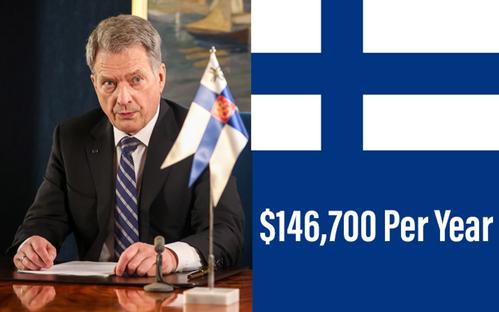 PRESIDENT OF FINLAND: SAULI NIINISTÖ