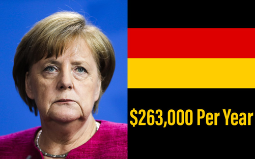 CHANCELLOR OF GERMANY: ANGELA MERKEL