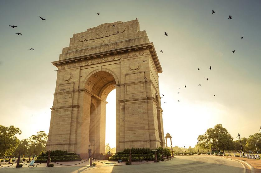India Gate in Delhi, India
