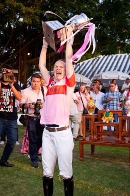 Queen's Cup Pink Polo 2019