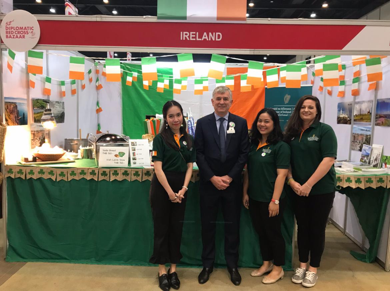H.E. Mr Tony Cotter Ambassador of Ireland to Thailand