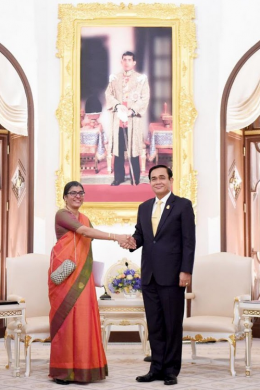 Mrs. Suchitra Durai Indian Ambassador to Thailand
