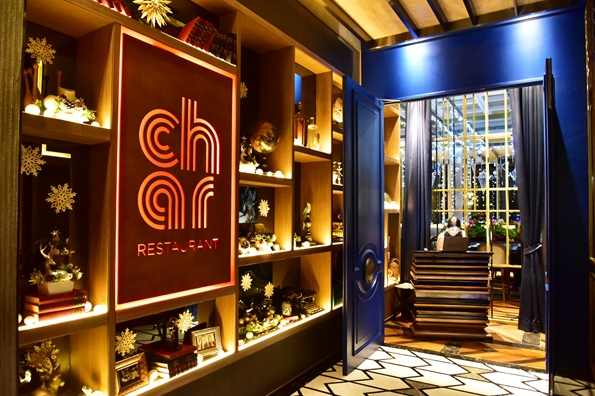 Char restaurant Indigo Hotel Bangkok