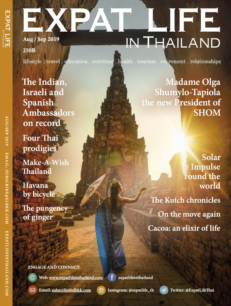 Cover Expat Life issue August/September 2019