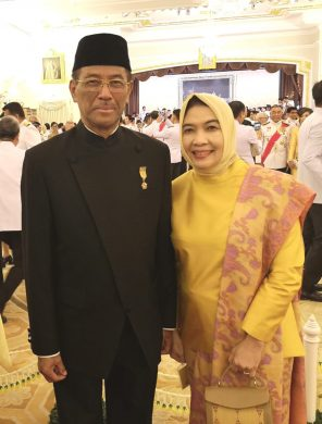 H.E. Mr. Ahmad Rusdi and Madam