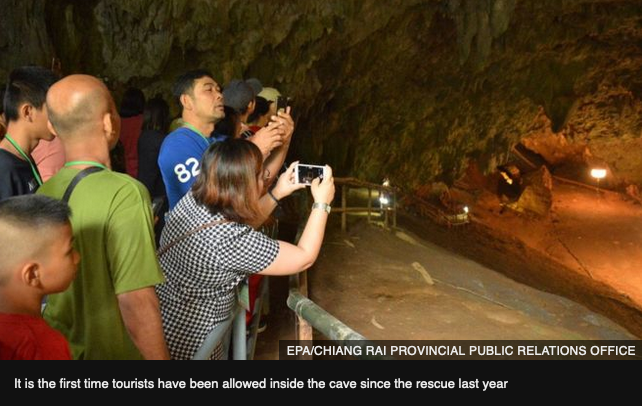 Tham Luang Cave reopen 2019