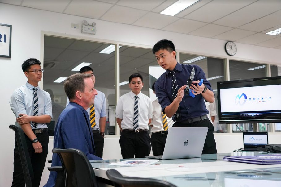 Jon Standen Head Master of Harrow International School Bangkok